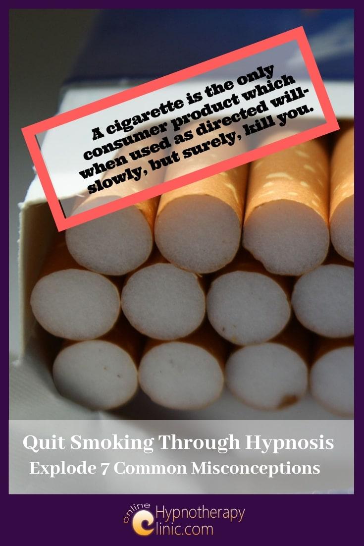 quit smoking through hypnosis