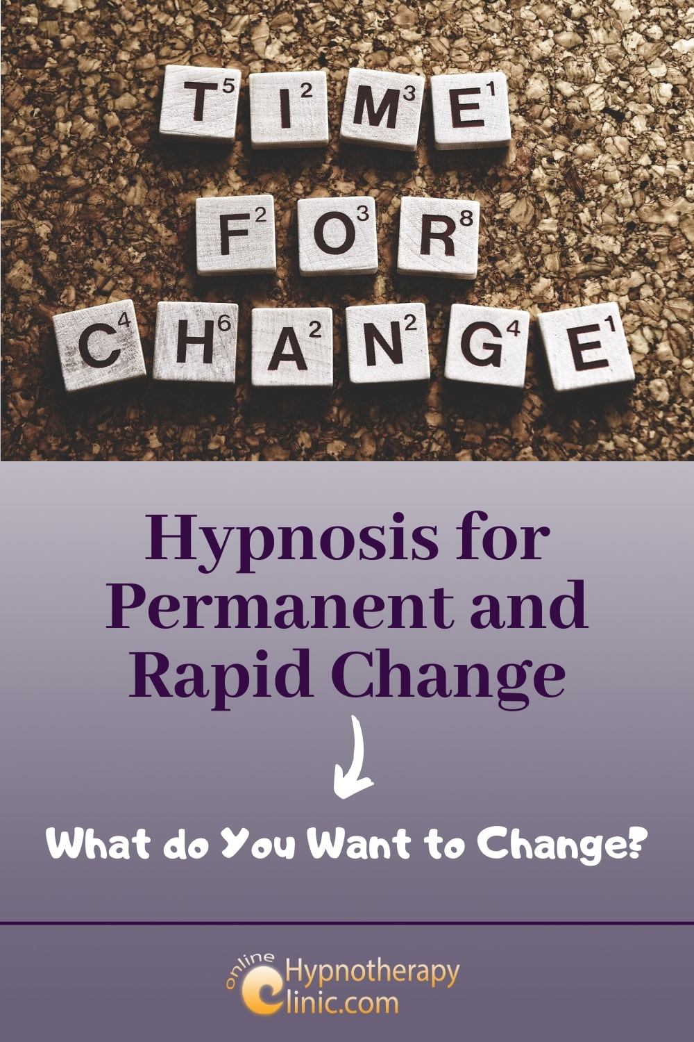 hypnosis for permanent rapid change