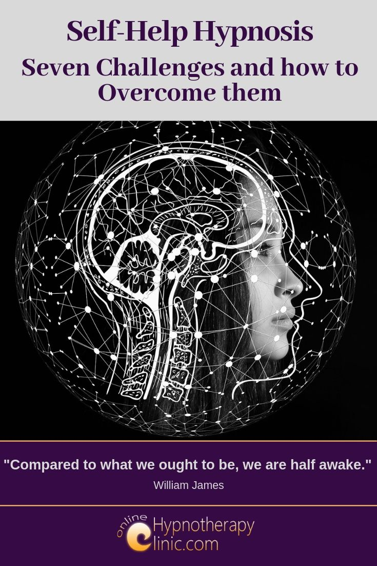 self help hypnosis challenges