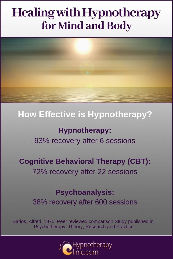 healing with hypnotherapy