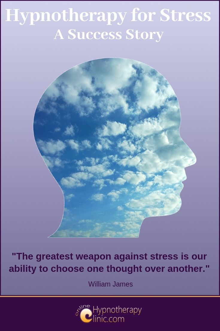 hypnotherapy for stress