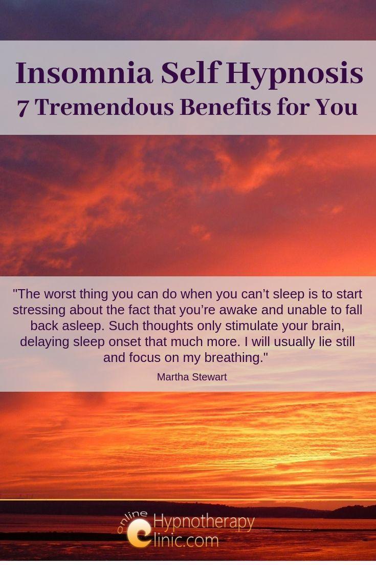 insomnia self hypnosis