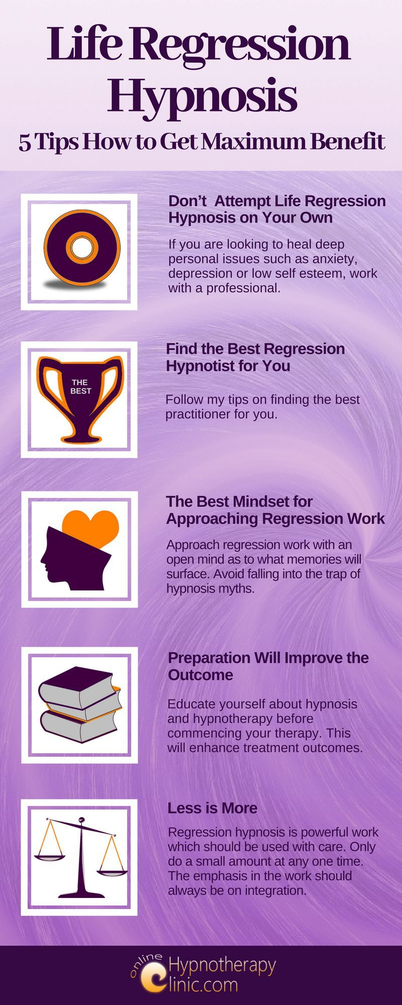 life regression hypnosis