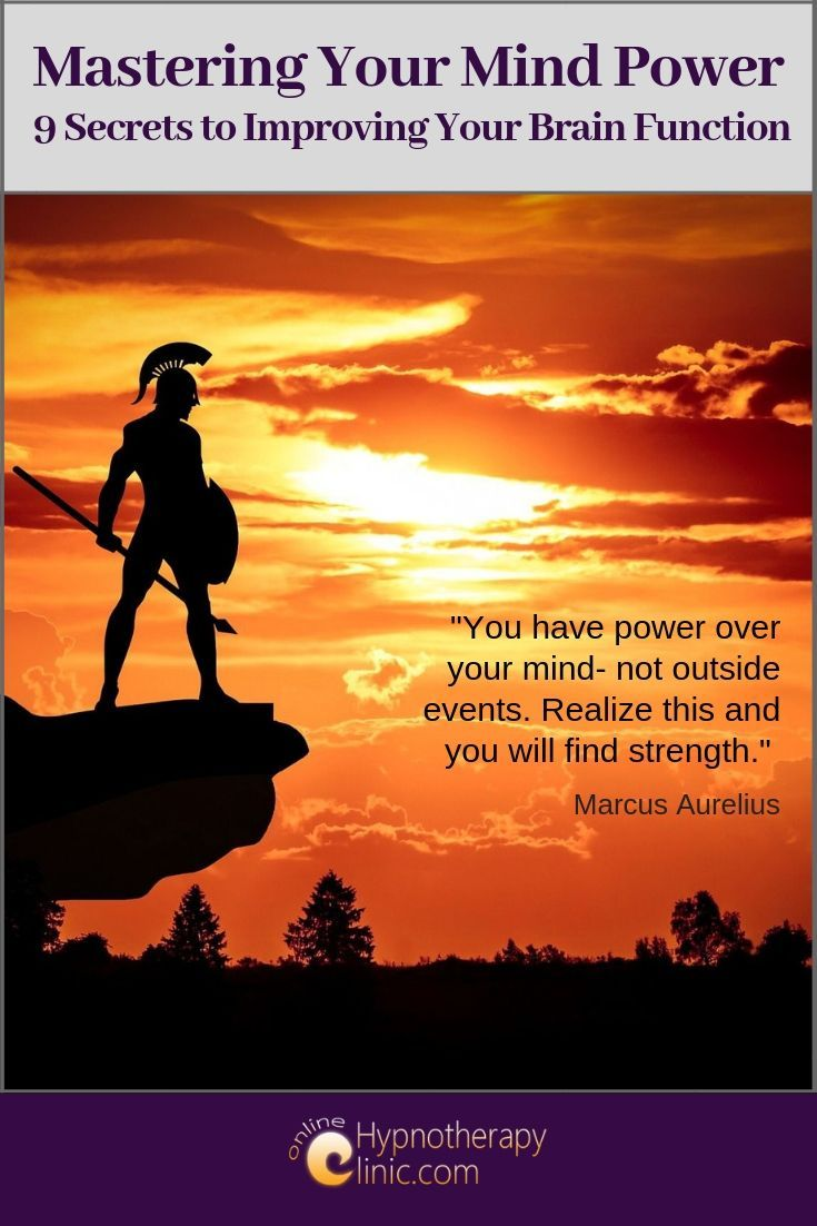 mastering your mind power