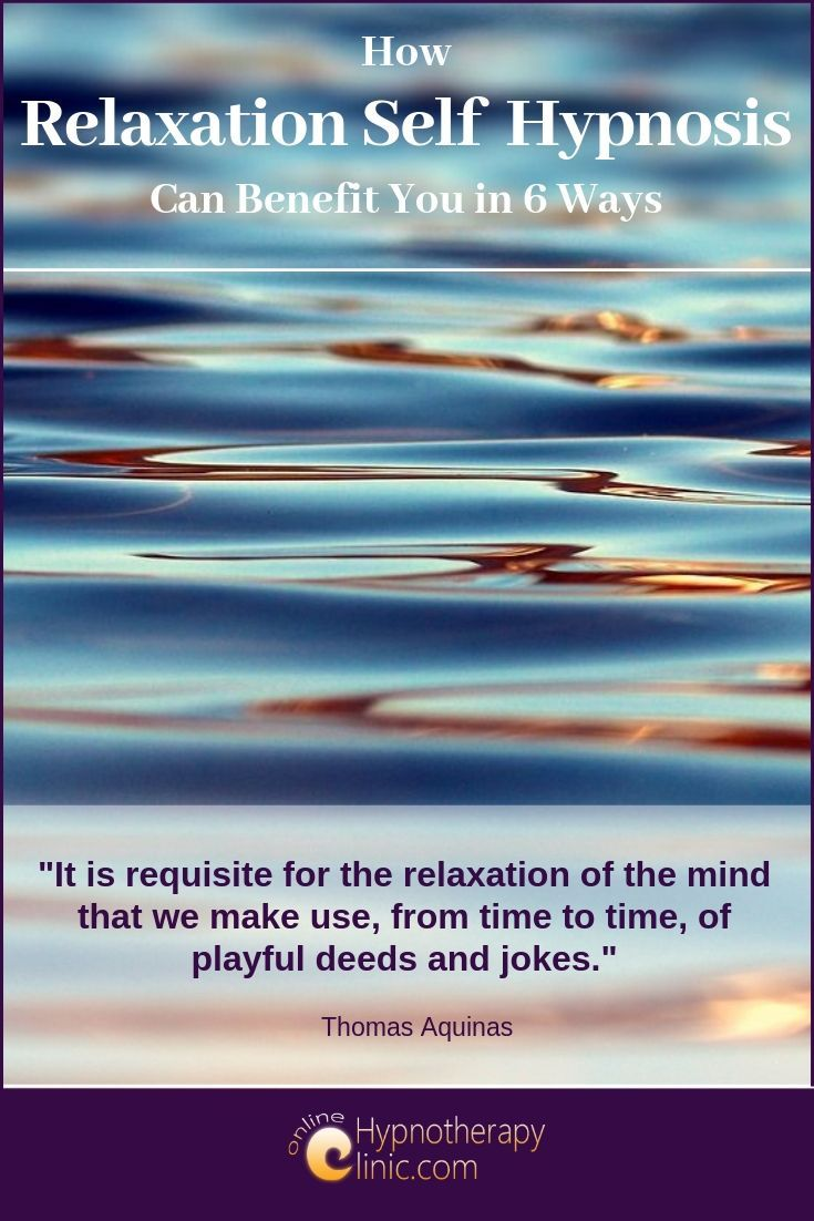 relaxation self hypnosis