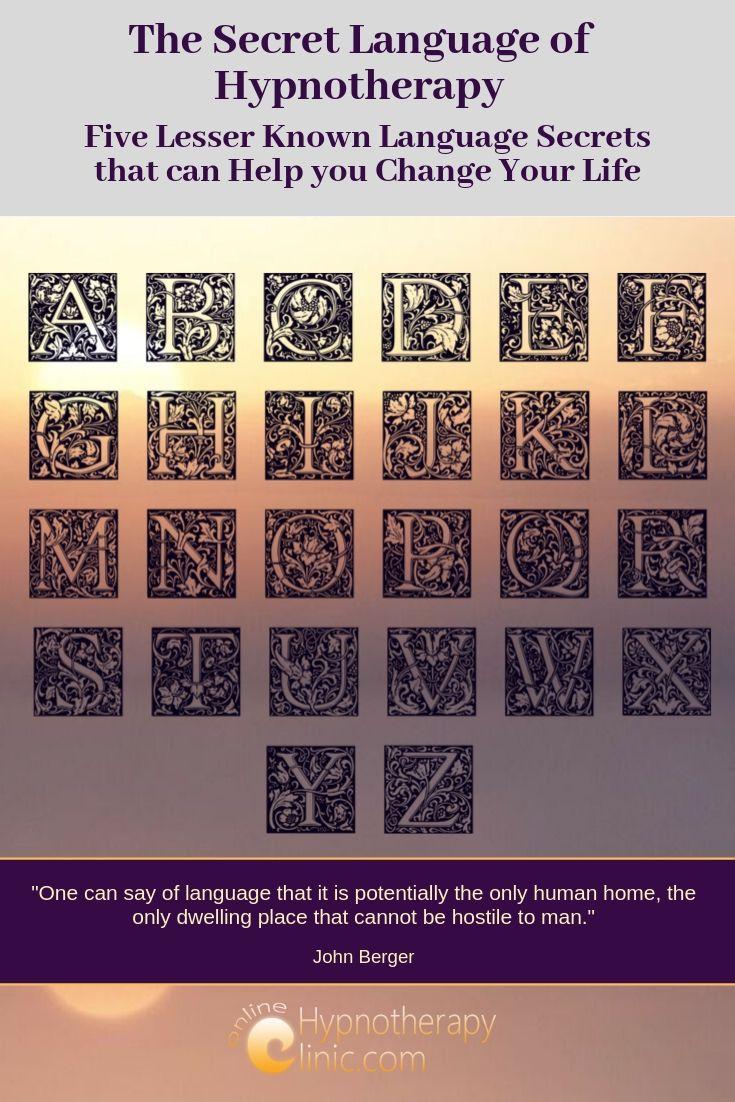 secret language of hypnotherapy