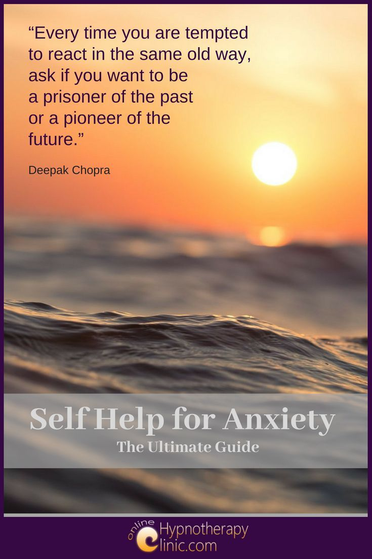 self help for anxiety