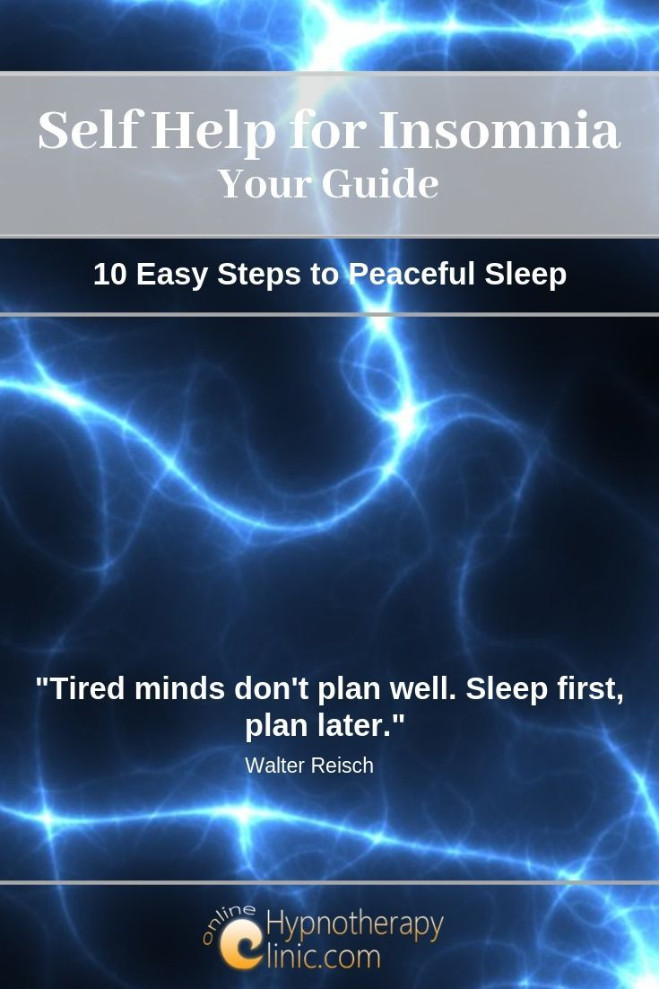 self help for insomnia