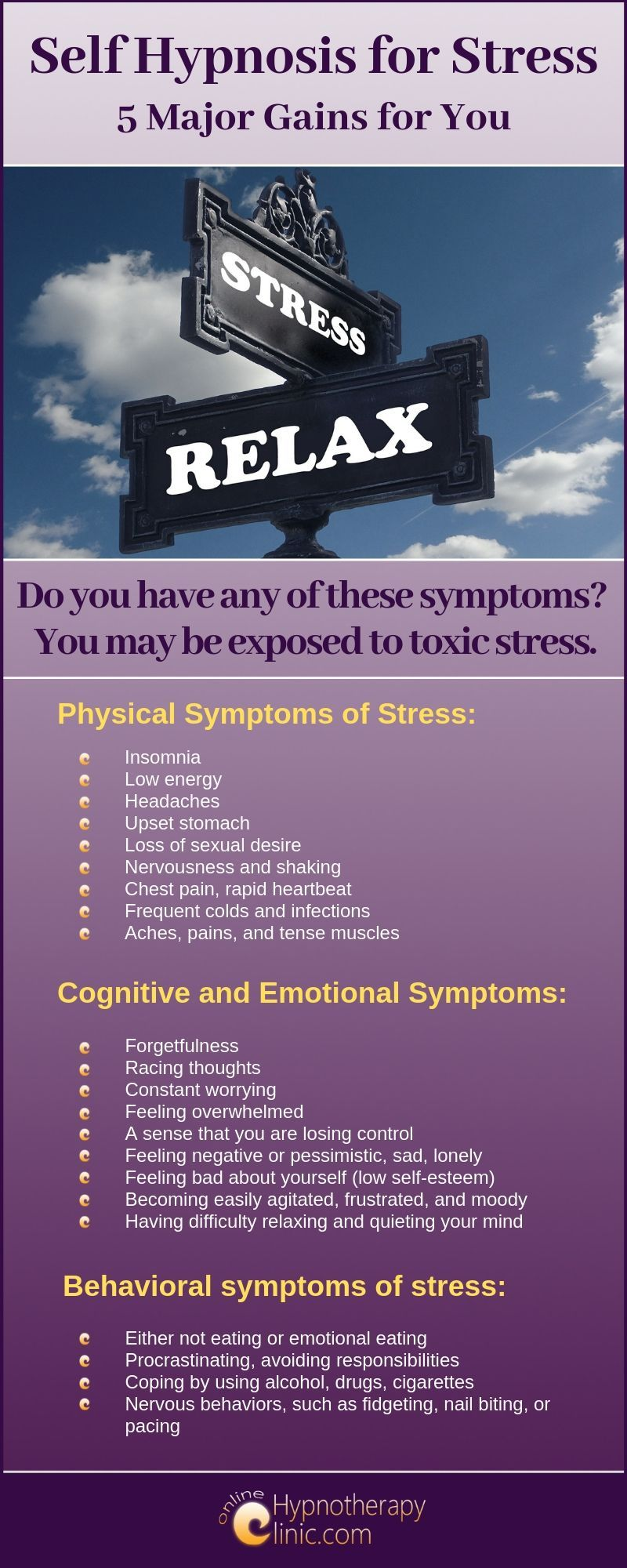 self hypnosis for stress