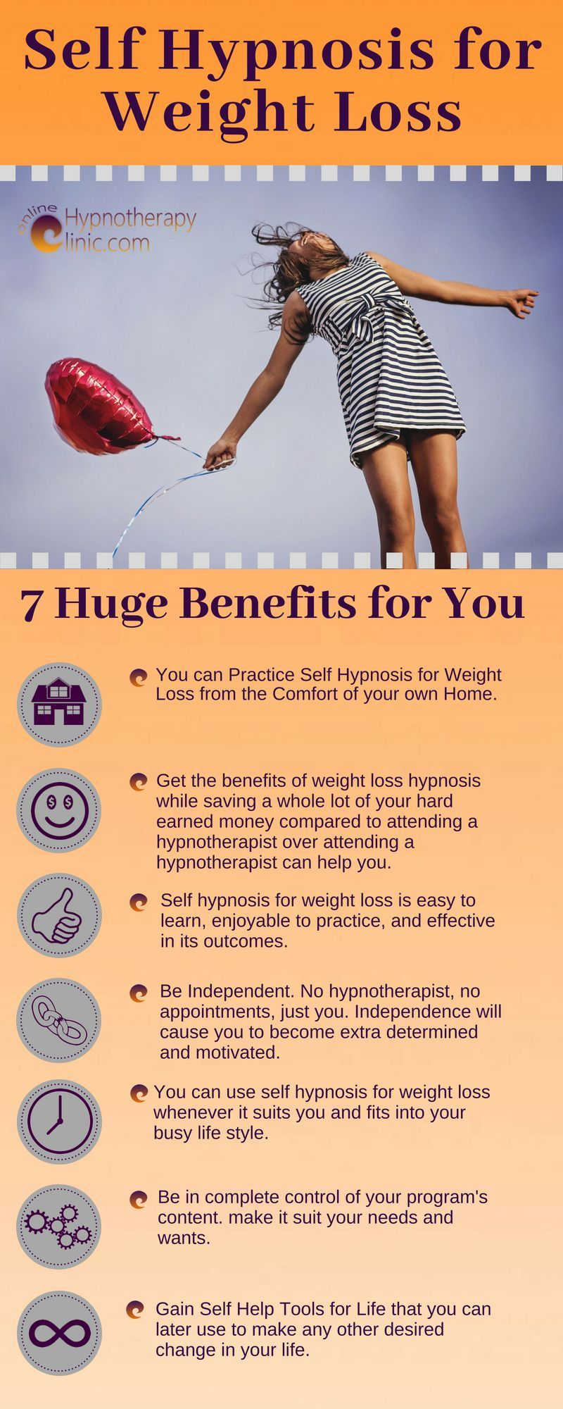 Self Hypnosis for Weight Loss- 7 Huge Benefits for You