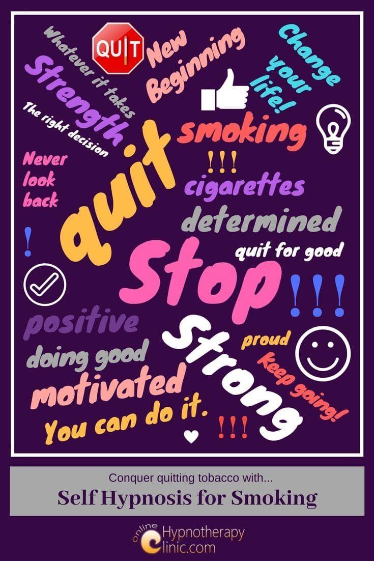 self hypnosis smoking