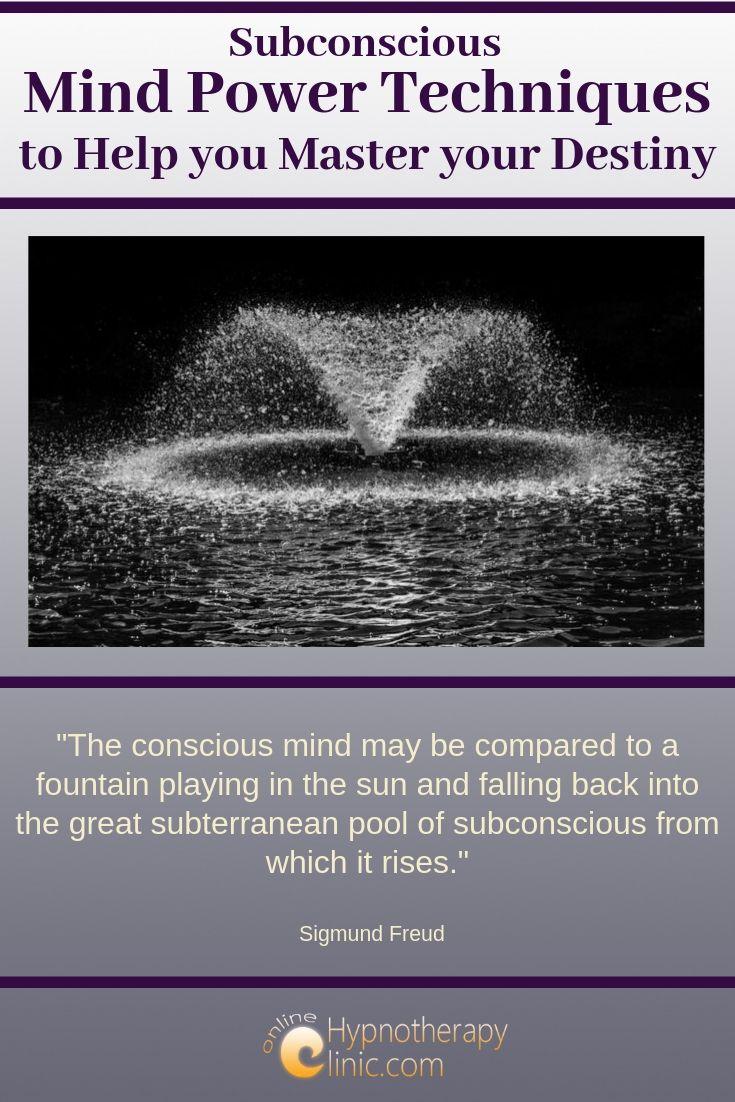 subconscious mind power techniques