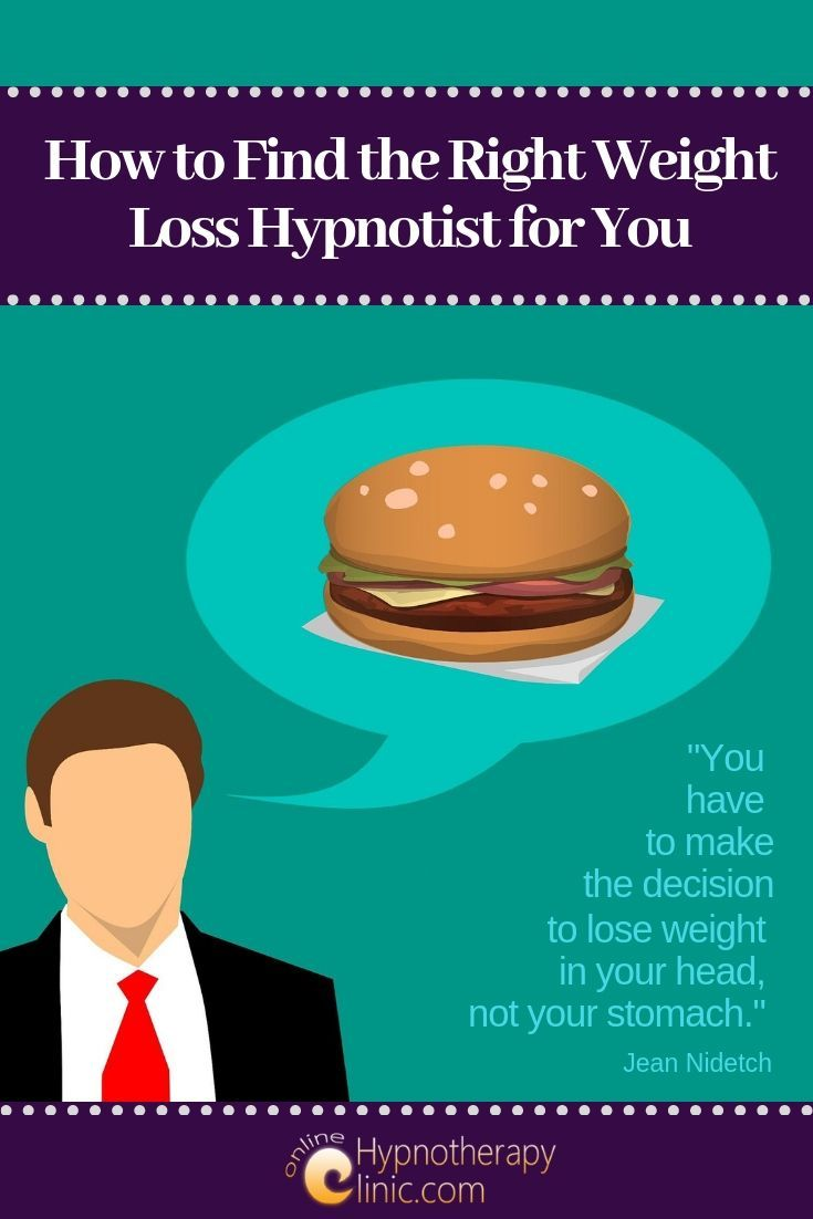 weight loss hypnotists